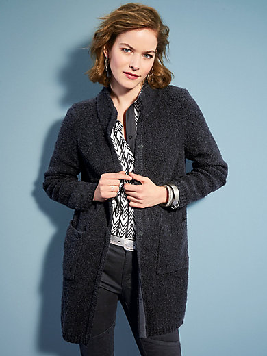 Looxent - Long cardigan in a straight cut