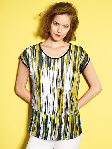 Looxent - Round neck top with extended shoulders