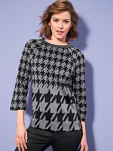 Looxent - Top with 3/4-length raglan sleeves