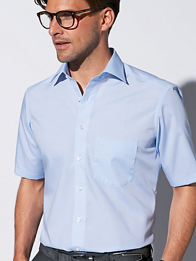 """Olymp Luxor - """"Modern Fit"""" shirt with 1/2-length sleeves"""