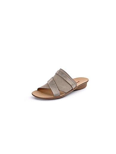 Paul Green - Soft kidskin nubuck leather mules