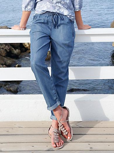 Peter Hahn - 7/8 length slip on trousers