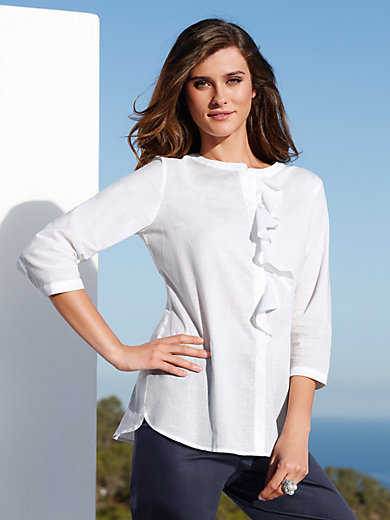 Peter Hahn - Blouse with 3/4-length sleeves