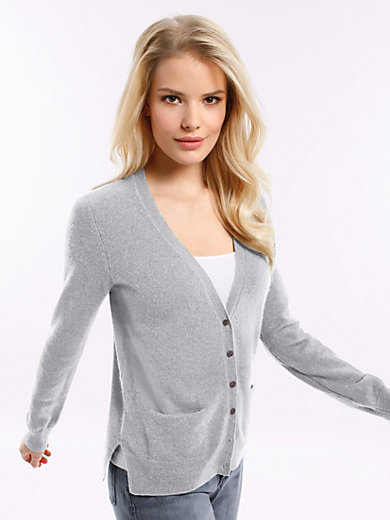 Peter Hahn Cashmere - Cardigan in 100% cashmere - Design SINA