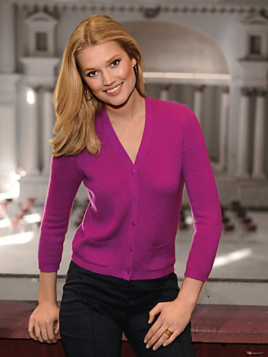 Peter Hahn Cashmere - Cardigan in pure cashmere