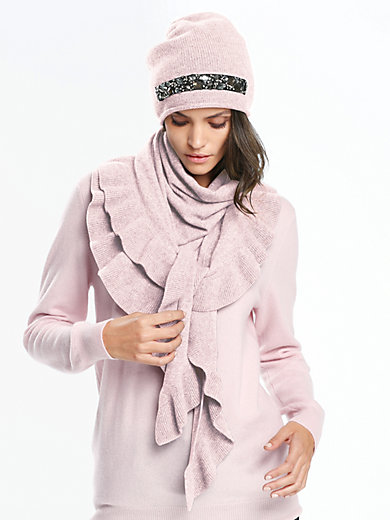 Peter Hahn Cashmere - knitted scarf