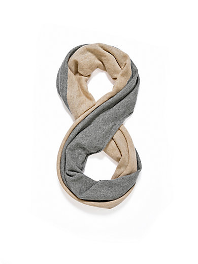 Peter Hahn Cashmere - Loop scarf in 100% cashmere
