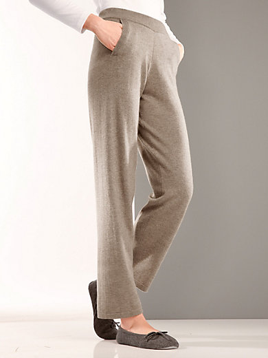 Peter Hahn Cashmere - Trousers in 100% cashmere