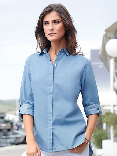 Peter Hahn - Denim blouse
