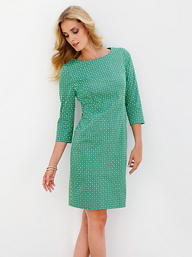 Peter Hahn - Dress with 3/4-length sleeves
