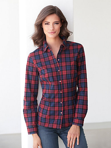 Peter Hahn - Flannel blouse