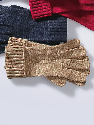 Peter Hahn - Gloves 100% cashmere.