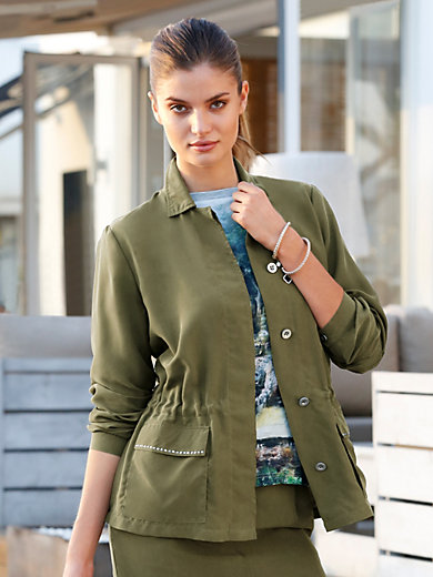 Peter Hahn - Jacket in 100% silk