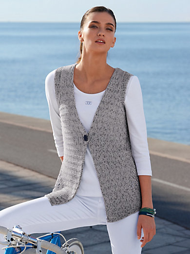 Peter Hahn - Knitted waistcoat