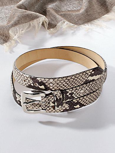 Peter Hahn - Nappa leather belt
