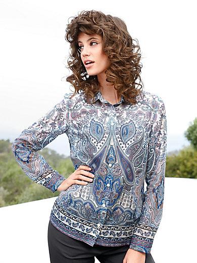 Peter Hahn - Paisley print blouse