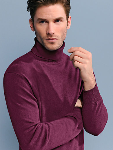 Peter Hahn - Polo neck jumper in 100% cashmere - Design ROLAND