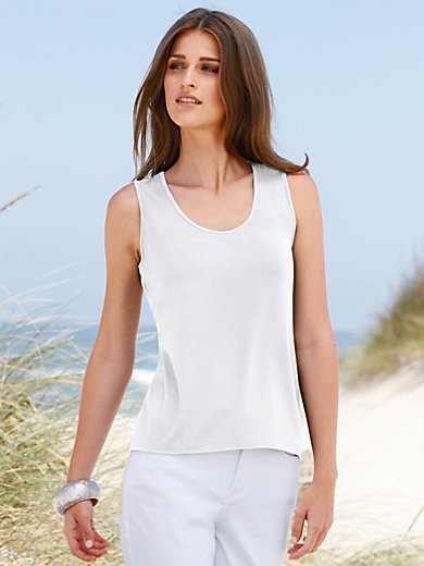 Peter Hahn - Round neck top with straps