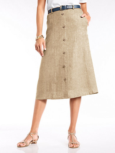 Peter Hahn - Skirt in 100% linen