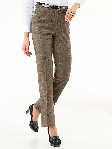 Peter Hahn - Tweed trousers - CORNELIA fitting
