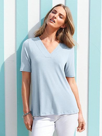 Peter Hahn - V-neck top