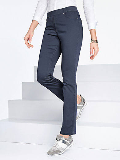 "Raphaela by Brax - ""ProForm Slim"" pull-on trousers - Design PAMINA"
