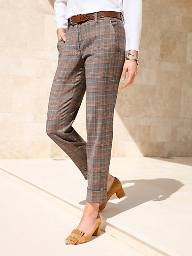 Riani - 7/8-length trousers with pre-pressed creases