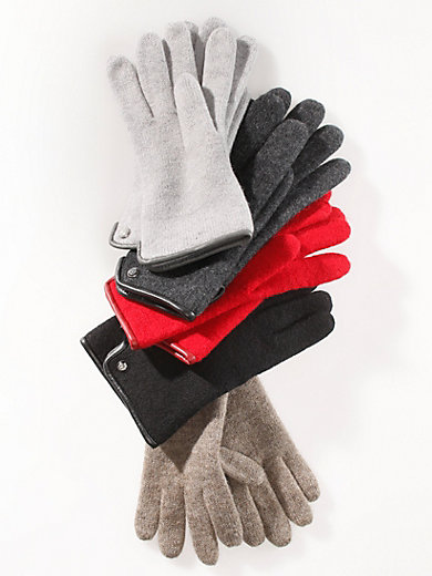 Roeckl - Gloves in 100% new milled wool