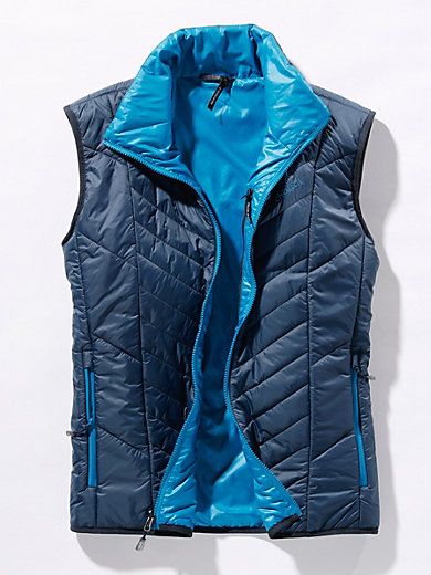 Schöffel - Zip-in reversible quilted gilet