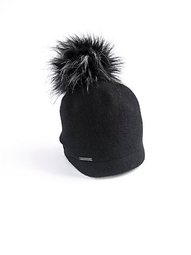 Seeberger - Hat in 100% new milled wool