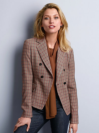 Strenesse - Blazer with Oxford checks