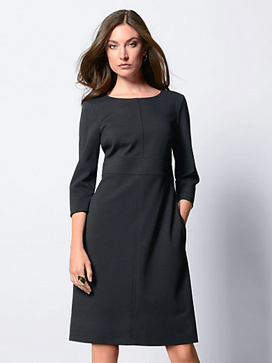 Strenesse - Jersey dress with 3/4-length sleeves