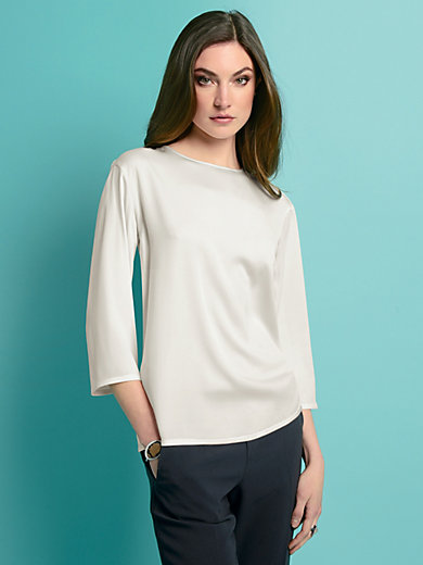 Strenesse - Slip-on blouse with 3/4-length sleeves