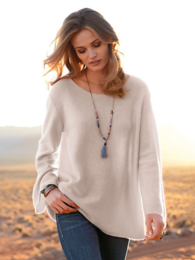 the lovely brand - Round neck jumper in 100% cashmere