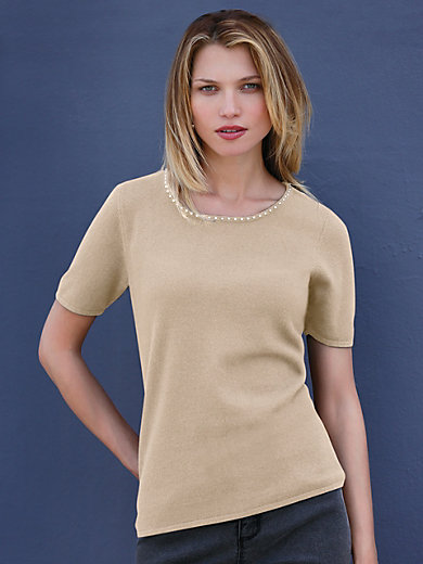 Uta Raasch - Round neck pullover with 1/2-length sleeves