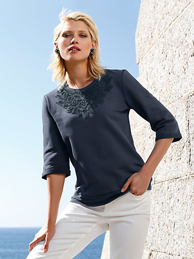 Uta Raasch - Sweatshirt with 3/4-length sleeves