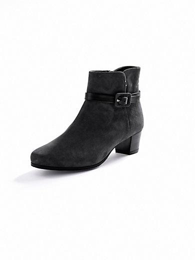 Vabeene - Velvety kidskin suede ankle boots