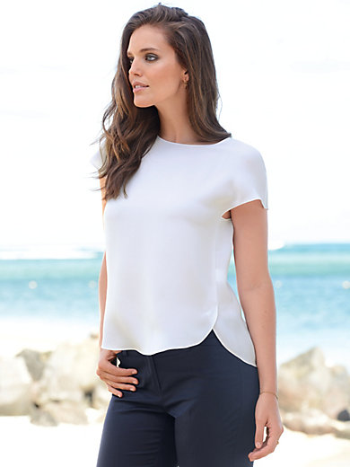 Windsor - Blouse with extended shoulders