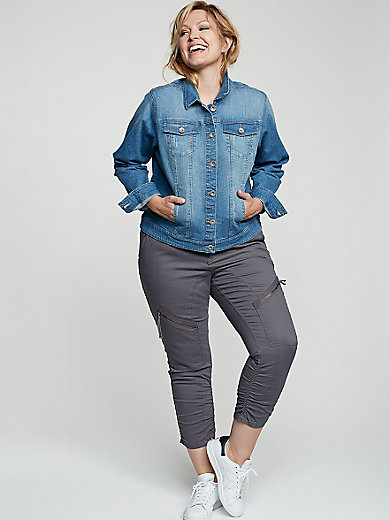zizzi - Short denim jacket